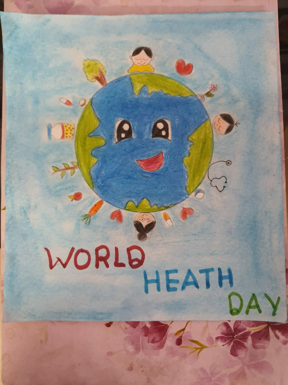 World Health Day 2021 at DPS,GBN