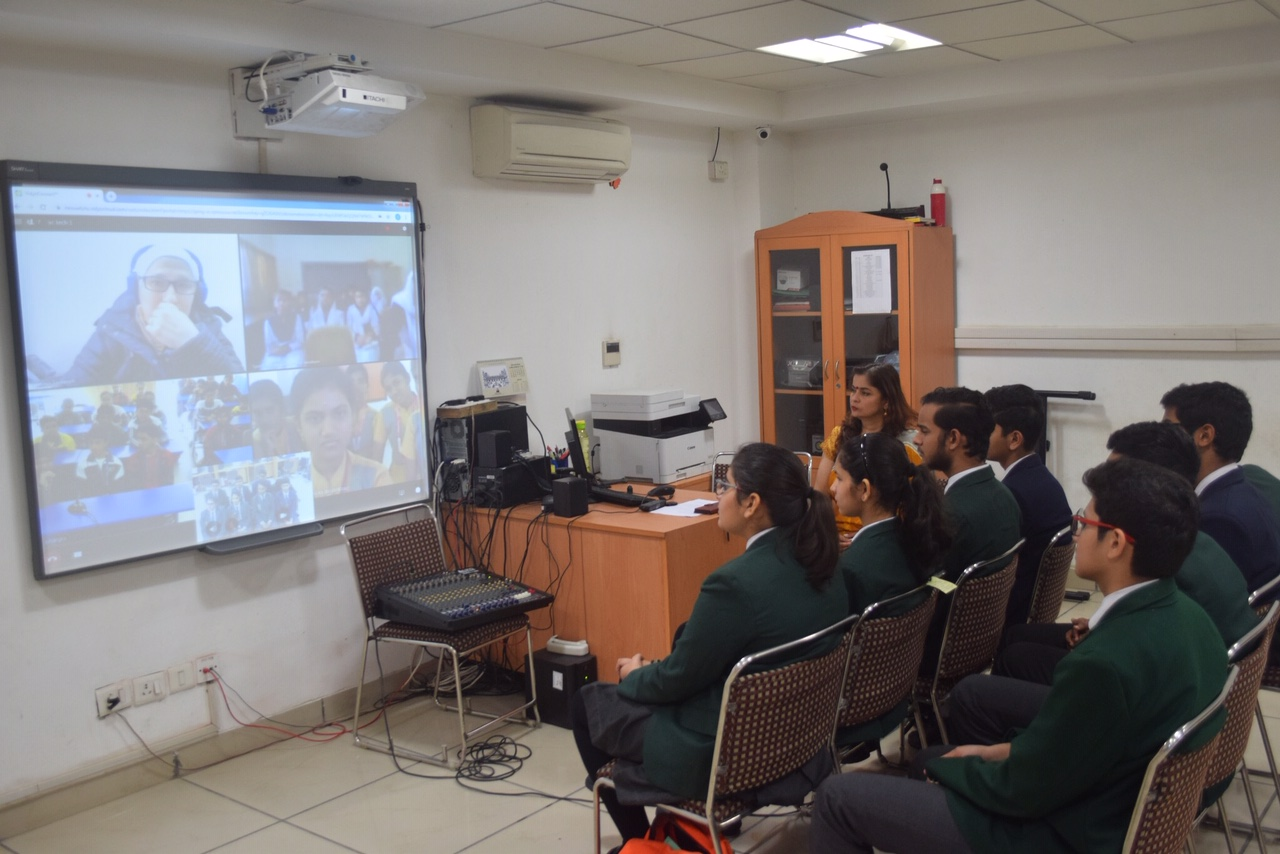 Friends Across Borders - Generation Global Video Conference